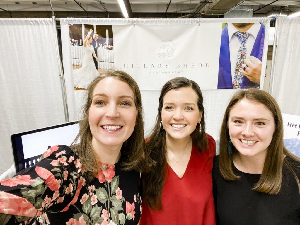 Vendors having fun at the Denver Wedding and Bridal Expo in Northern Colorado with Hillary Shedd Photography