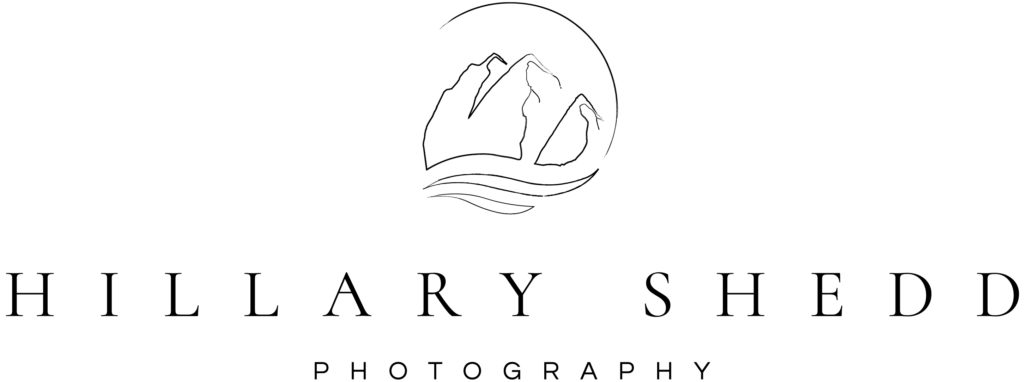 Logo for Hillary Shedd Photography Northern Colorado Wedding Photographer